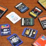 特別企画 SDカードとCFカードの比較